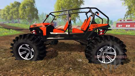 Polaris RZR XP 1000 für Farming Simulator 2015