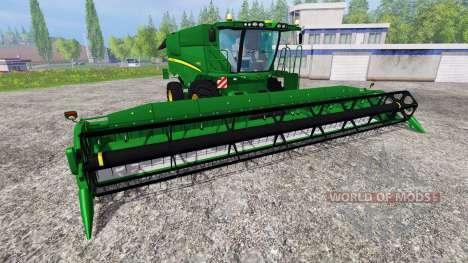John Deere S 690i v1.5 pour Farming Simulator 2015