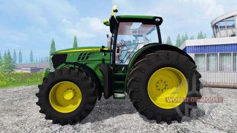 John Deere 6210R v2.0 pour Farming Simulator 2015