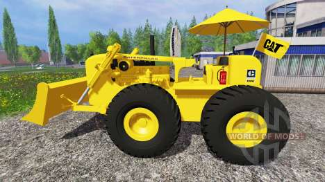 Caterpillar DW6 für Farming Simulator 2015