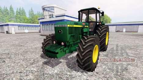 John Deere 4755 für Farming Simulator 2015