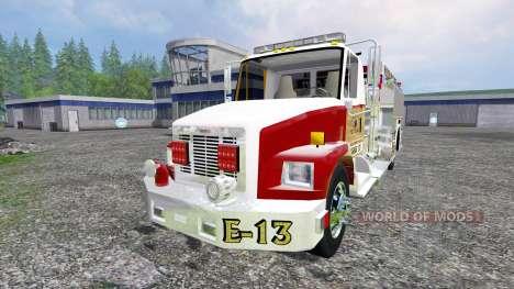 Freightliner FL60 [feuerwehr] für Farming Simulator 2015