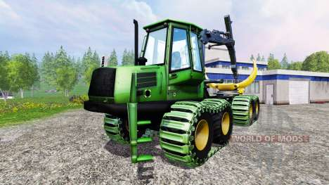 John Deere 1110D v1.2 für Farming Simulator 2015