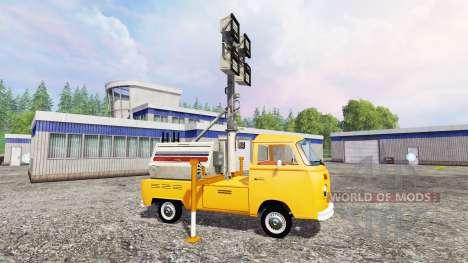 Volkswagen Transporter T2B 1972 [lighting mast] für Farming Simulator 2015