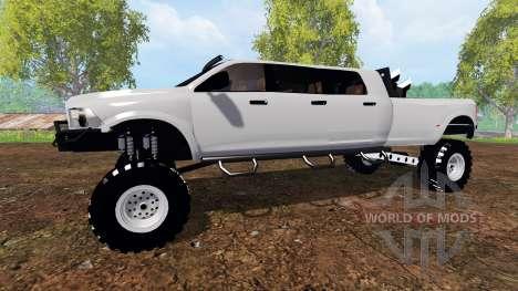 Dodge Ram Mega Runner v3.0 für Farming Simulator 2015