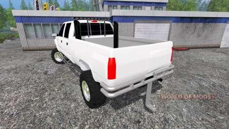 Chevrolet Silverado 2000 pour Farming Simulator 2015