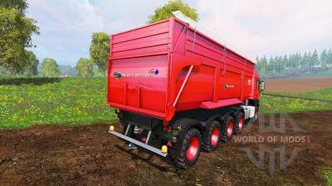 MAN TGS 10x8 v1.2 pour Farming Simulator 2015