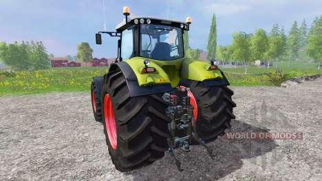 CLAAS Axion 850 v1.2 für Farming Simulator 2015