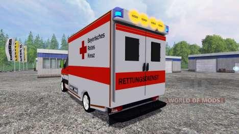 Volkswagen Crafter BRK für Farming Simulator 2015