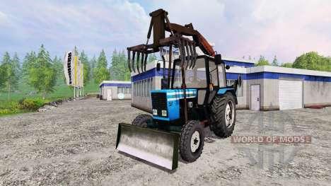 MTZ-82.1 [Greifer loader] für Farming Simulator 2015