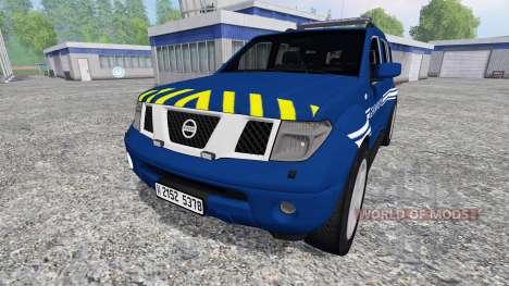 Nissan Pathfinder Gendarmerie für Farming Simulator 2015
