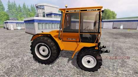 Deutz-Fahr Intrac 2004 [forestry] für Farming Simulator 2015