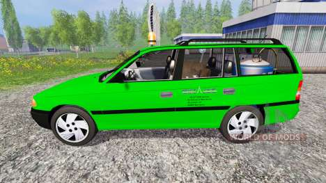 Opel Astra F Caravan [Deutz-Fahr service] pour Farming Simulator 2015
