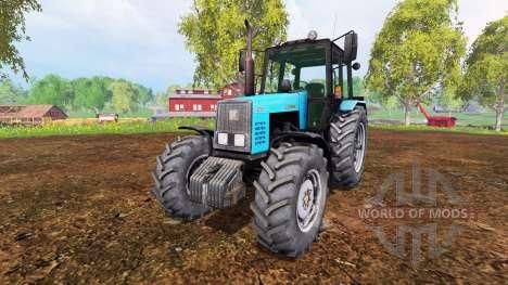MTZ-1221 Biélorussie v1.0 pour Farming Simulator 2015