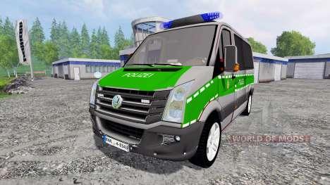 Volkswagen Crafter Bavaria Police pour Farming Simulator 2015