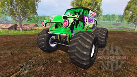 Grave Digger pour Farming Simulator 2015