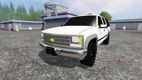 Chevrolet Suburban 1998 v2.0 für Farming Simulator 2015