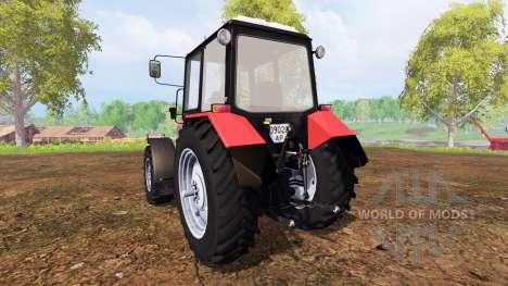 Biélorussie-1221.2 v2.0 [rouge] pour Farming Simulator 2015