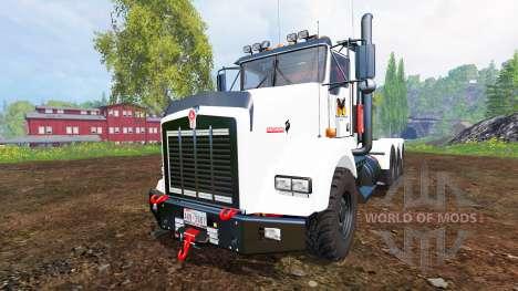 Kenworth T800 v0.96b für Farming Simulator 2015