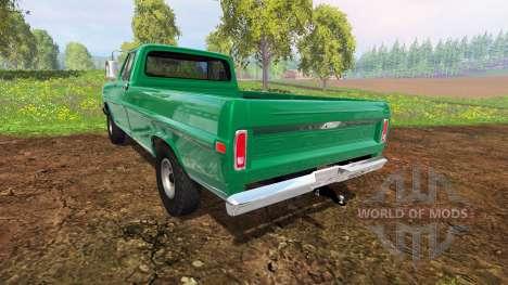 Ford F-100 1970 4x4 für Farming Simulator 2015