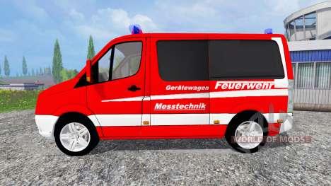 Volkswagen Crafter [feuerwehr] pour Farming Simulator 2015