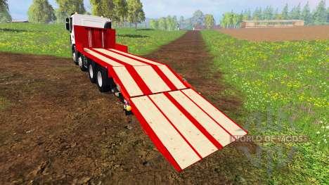 Renault Lander [plateau] pour Farming Simulator 2015