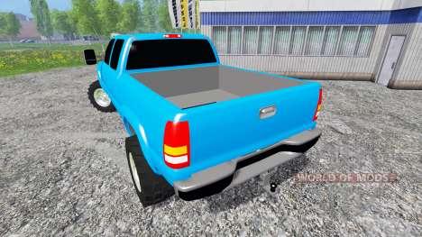 Chevrolet Silverado 2001 pour Farming Simulator 2015