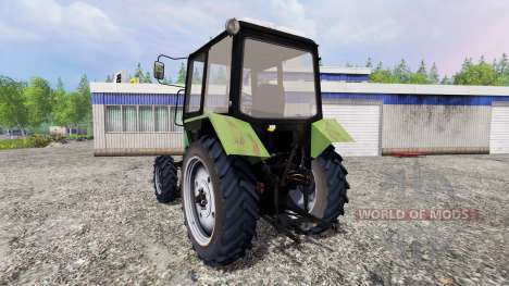 MTZ-82.1 Bélarus [green] pour Farming Simulator 2015
