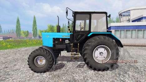 MTZ-82.1 de la Biélorussie pour Farming Simulator 2015