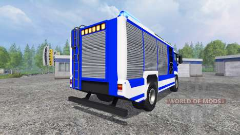 MAN TGM THW pour Farming Simulator 2015