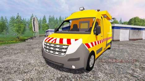 Renault Master DIR pour Farming Simulator 2015