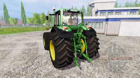 John Deere 7530 Premium v2.1 pour Farming Simulator 2015