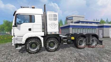 MAN TGS [heavy haulage] pour Farming Simulator 2015