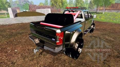 Ford F-450 2017 [custom][fix] für Farming Simulator 2015