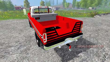 Ford F-250 1972 pour Farming Simulator 2015