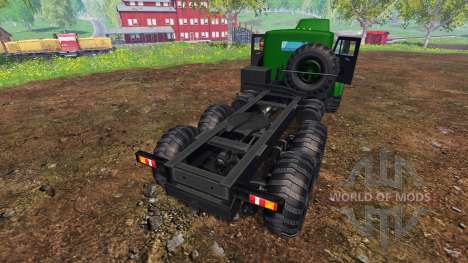 KrAZ-255 B1 v1.2 pour Farming Simulator 2015