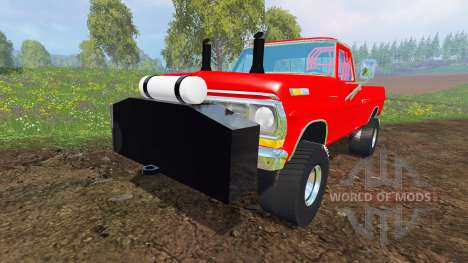 Ford F-100 [highboypuller] für Farming Simulator 2015
