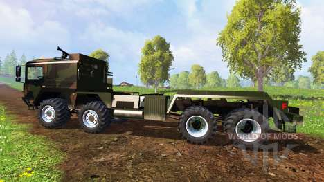 MAN KAT2 WLF pour Farming Simulator 2015