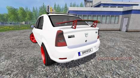 Dacia Logan v8.0 pour Farming Simulator 2015