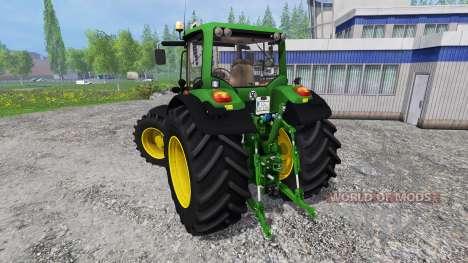 John Deere 7530 Premium v1.0 für Farming Simulator 2015