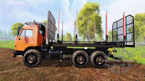 KamAZ-45143 [bois] pour Farming Simulator 2015