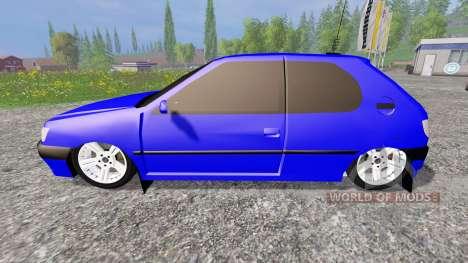 Peugeot 306 für Farming Simulator 2015