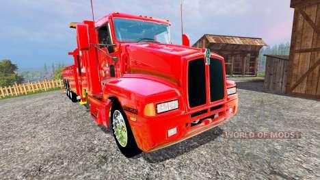 Kenworth T600B [wrecker] pour Farming Simulator 2015