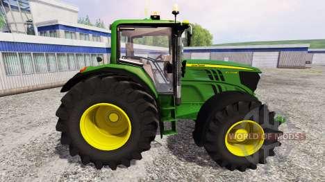John Deere 6170M v1.0 für Farming Simulator 2015