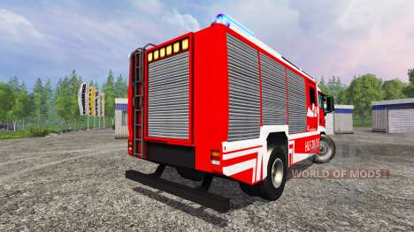 MAN TGM [firefighter] pour Farming Simulator 2015