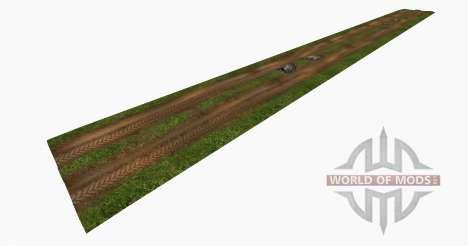 Wet dirt roads pour Farming Simulator 2015