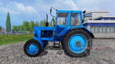 MTZ-82 [bleu] pour Farming Simulator 2015