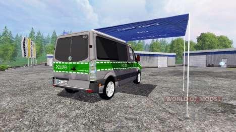 Volkswagen Crafter Bavaria Police für Farming Simulator 2015