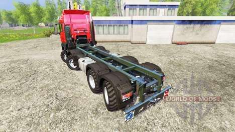 MAN TGS 41.480 8x8 v6.0 pour Farming Simulator 2015