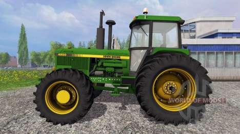 John Deere 4850 pour Farming Simulator 2015